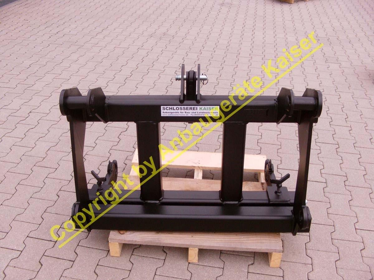 adapter von radlader auf kat2 heckhydraulik 3 punkt verstellbare ausf hrung. Black Bedroom Furniture Sets. Home Design Ideas