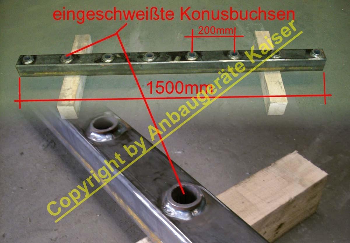 Mistgabel dunggabel für frontlader mit euroaufnahme