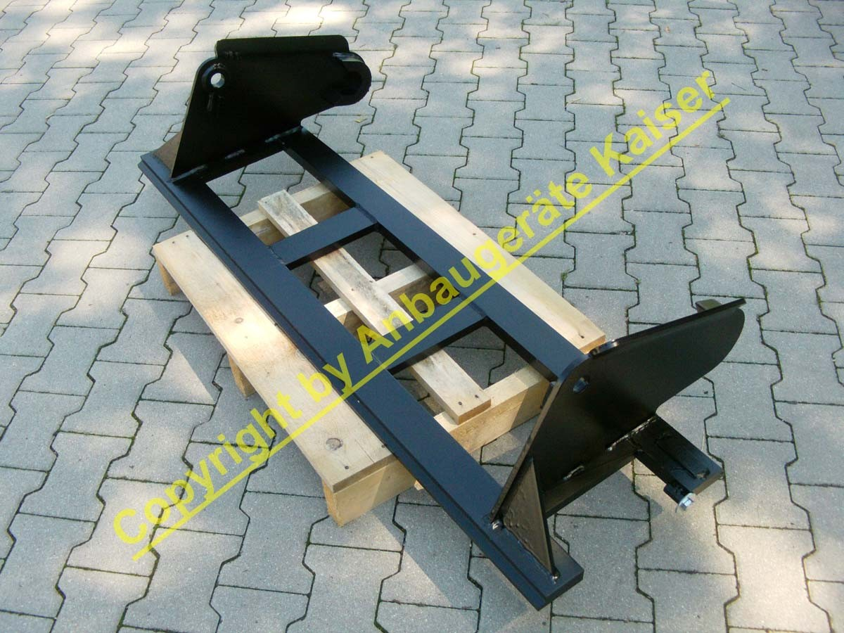 neue palettengabel bis 2000kg mit hauer aufnahme f r. Black Bedroom Furniture Sets. Home Design Ideas